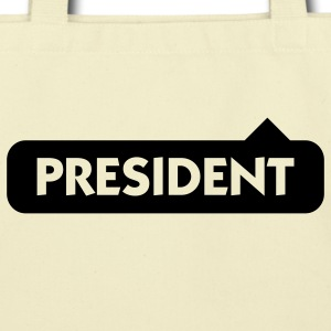 President (1c) Bags  - Eco-Friendly Cotton Tote