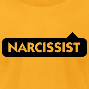 Narcissist (1c) T-Shirts - Men's T-Shirt by American Apparel
