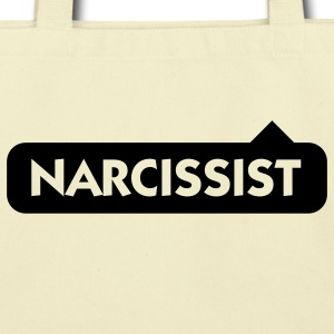 Narcissist (1c) Bags  - Eco-Friendly Cotton Tote