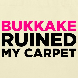 Bukkake Ruined My Carpet 2 (2c) Bags  - Eco-Friendly Cotton Tote
