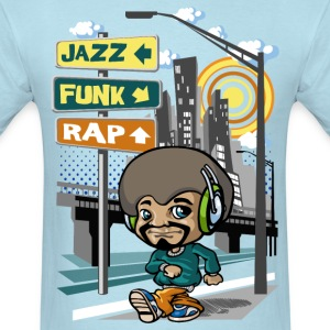 Summertime hip hop T-Shirts - Men's T-Shirt