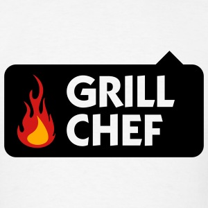 Grill Chef 1 (3c) T-Shirts - Men's T-Shirt