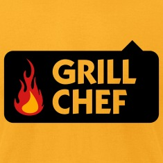 Grill Chef 1 (3c) T-Shirts