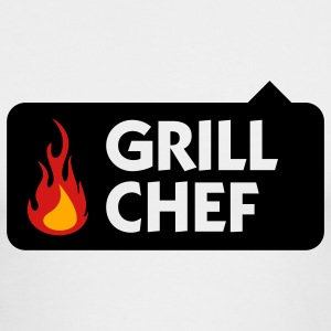 Grill Chef 1 (3c) Long Sleeve Shirts - Men's Long Sleeve T-Shirt by Next Level
