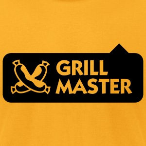 Grill Master 3 (1c) T-Shirts - Men's T-Shirt by American Apparel