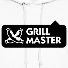 Grill Master 3 (1c) Hoodies
