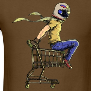 Colored Cart Racer - Men's T-Shirt