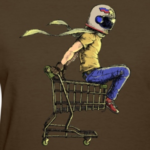 Colored Cart Racer - Women's T-Shirt