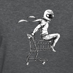Kart Racer Black and White - Women's T-Shirt