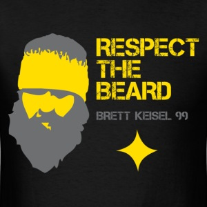 Respect the Beard! Brett Keisel #99 - Men's T-Shirt
