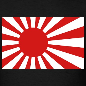 Rising Sun Flag T-Shirts - Men's T-Shirt