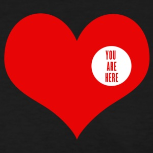You are here - love and valentine's day gift Women's T-Shirts - Women's T-Shirt
