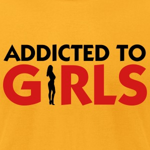 Addicted to Girls 2 (2c) T-shirts (manches courtes) - T-shirt pour hommes American Apparel