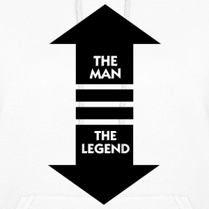 The Man The Legend (1c) Hoodies - Women's Hoodie
