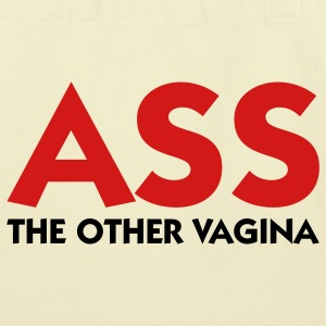 Ass - The Other Vagina (2c) Bags  - Eco-Friendly Cotton Tote