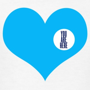 you are here - love and valentine's day gift Kids' Shirts - Kids' T-Shirt
