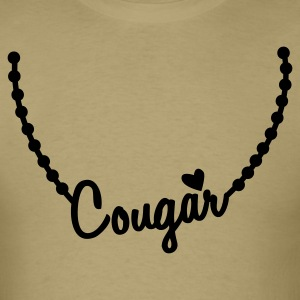 cougar necklace T-Shirts - Men's T-Shirt