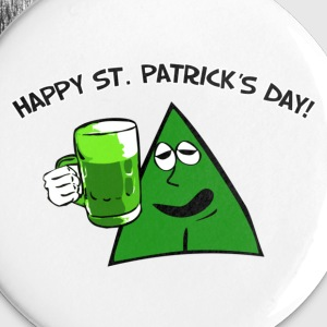 Fred Boozer St.Pattys Day Buttons - Small Buttons