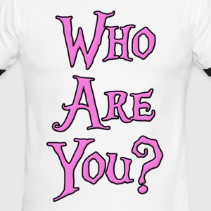 Who Are You? T-Shirts - Men's Ringer T-Shirt