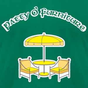 Patty O'Furniture T-Shirts - Men's T-Shirt by American Apparel