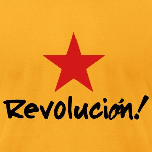 Revolucion Revolution (2c) T-Shirts - Men's T-Shirt by American Apparel