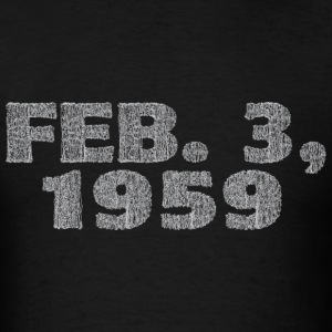 The Day the Music Died - Men's T-Shirt
