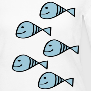 Fishes Long Sleeve Shirts - Women's Long Sleeve Jersey T-Shirt