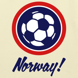 Norway Football Soccer Circles (3c) Bags  - Eco-Friendly Cotton Tote