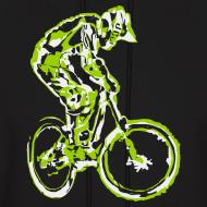 Design ~ Mountain Bike Hooded Shirt - Downhill Rider