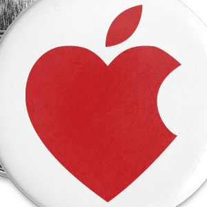 iHeart apple buttons - Small Buttons
