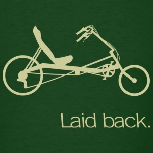 Laid Back Recumbent T - Men's T-Shirt