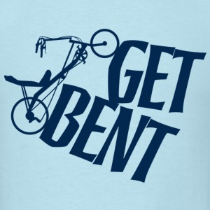 Get Bent Recumbent T - Men's T-Shirt