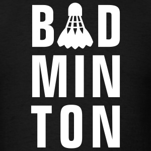 badminton_022011_x_1c T-Shirts - Men's T-Shirt