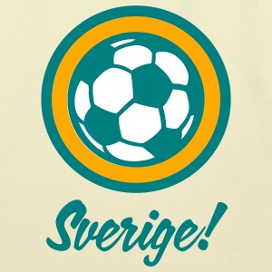 Sverige Sweden Football Soccer Circles (3c) Bags  - Eco-Friendly Cotton Tote