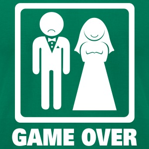Game Over T-Shirts - Men's T-Shirt by American Apparel