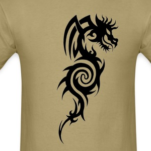Tribal Dragon Tattoo - Men's T-Shirt