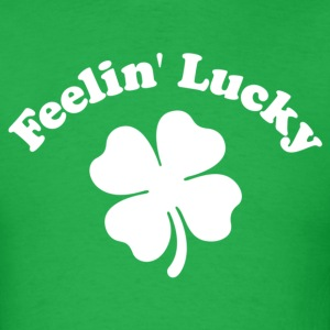 Feelin' Lucky Shamrock - Men's T-Shirt