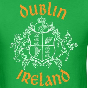 Dublin Ireland Shield - Men's T-Shirt