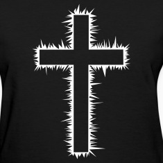 Christian Cross (V) Women's T-Shirts