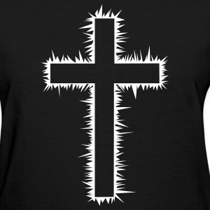 Christian Cross (V) Women's T-Shirts - Women's T-Shirt