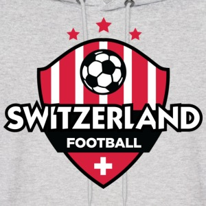 Switzerland Football (DD) Hoodies - Men's Hoodie