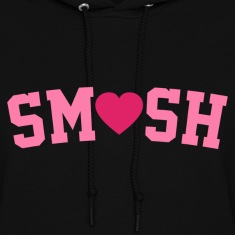 Smush Pink Hoodies