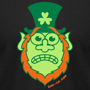 St Paddy's Day Stressed Leprechaun  T-Shirts - Men's T-Shirt by American Apparel
