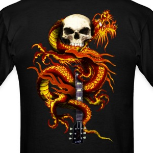 Red Dragon Skull - Men's T-Shirt