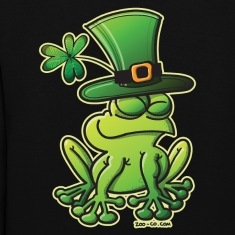 Saint Patrick's Day Frog Hoodies