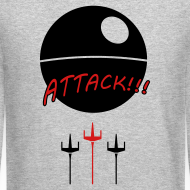 Design ~ Attack Death Star Sweatshirt