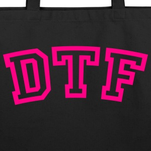 DTF1 Bags  - Eco-Friendly Cotton Tote