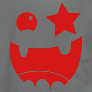 crazy face big teeth and star eye good for HALLOWEEN Zip Hoodies/Jackets - Unisex Fleece Zip Hoodie by American Apparel