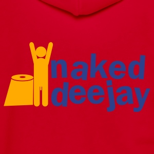 naked deejay (with a willy) Zip Hoodies/Jackets - Unisex Fleece Zip Hoodie by American Apparel