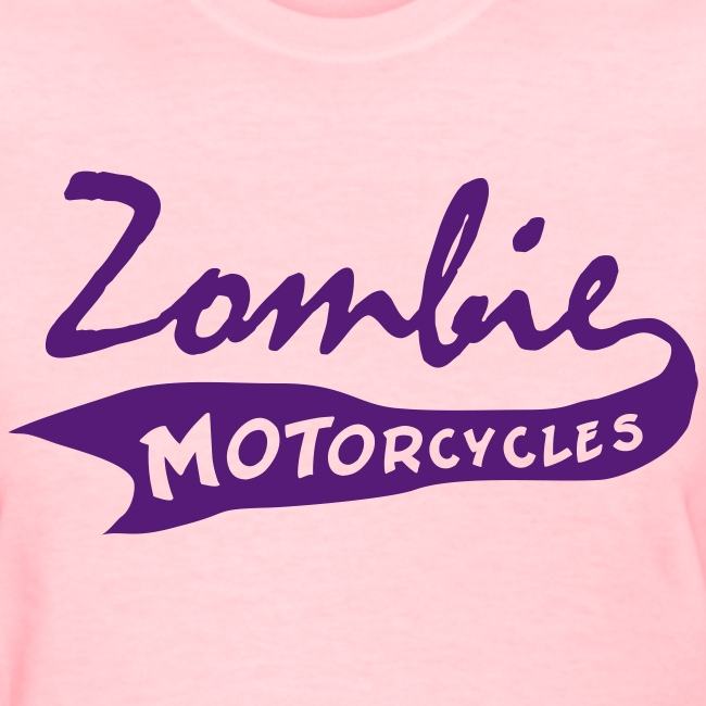 Womens Vintage Zombie